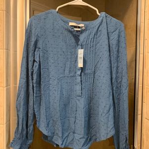 Loft long sleeve blouse. NWT